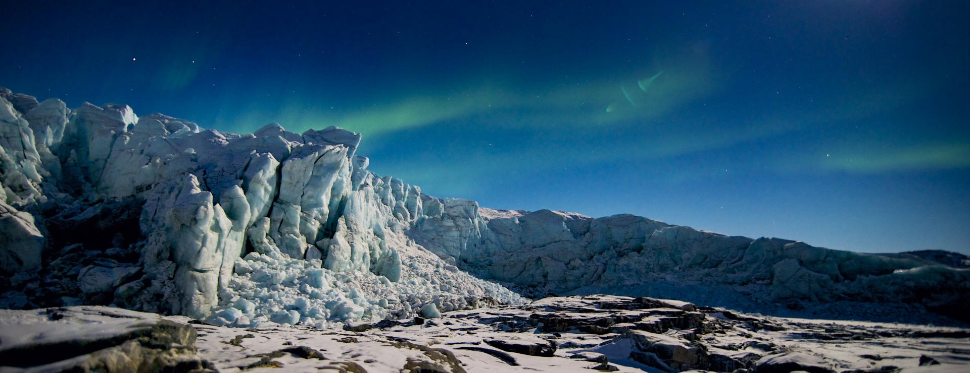 The local ice cap of Kangerlussuaq